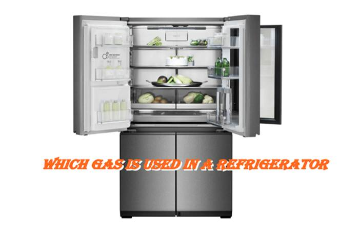 Which Gas used in refrigerator