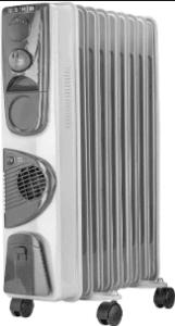 Usha 3809 F 2000 –watt Oil Filled Radiator Best Room Heater