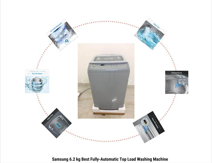 Samsung 6.2 kg Best Fully-Automatic Top Load Washing Machine