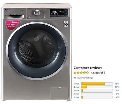LG 7 Kg Inverter Wi-Fi Fully-Automatic Front-Load Washing Machine
