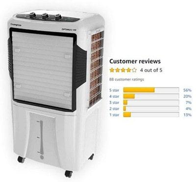 Crompton Optimus 100-Litre Desert Cooler